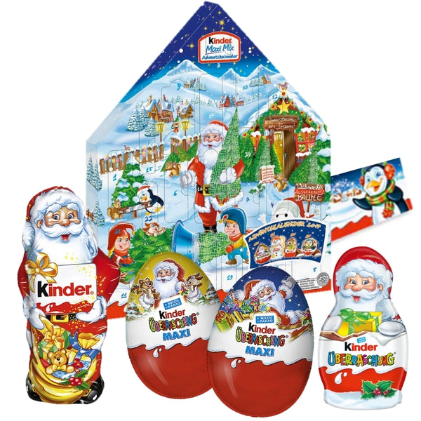 Advent Calendar - Kinder Maxi Mix Set