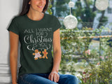 All I Want For Christmas Is You Tee - Chocolate & More Delights