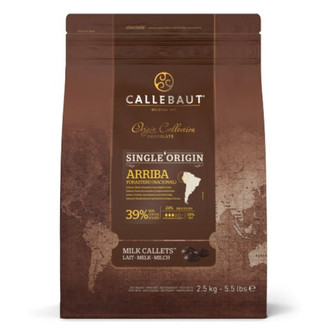 Barry Callebaut Single Origin Milk Couverture Chocolate - Chocolate & More Delights