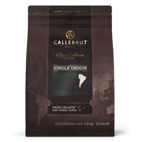 Barry Callebaut Single Origin Dark Couverture Chocolate 70.4% Ecuador