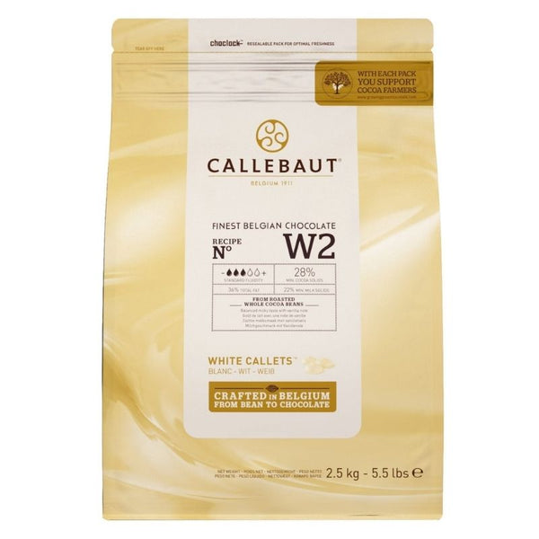 Barry Callebaut White Chocolate Couverture - Chocolate & More Delights