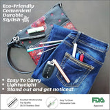 Collapsible Stainless Steel Straws with Accessories - Chocolate & More Delights