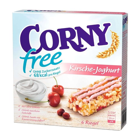 Corny Snack Bar Cherry Yogurt Sugar Free - Chocolate & More Delights