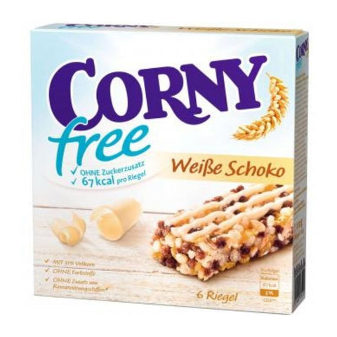 Corny Snack Bar White Chocolate Sugar Free - Chocolate & More Delights