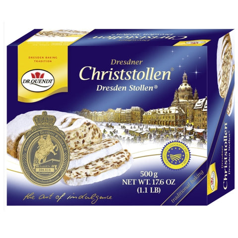 Dr. Quendt Stollen - Chocolate & More Delights