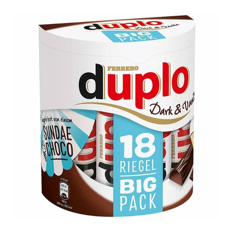 Duplo Dark Chocolate & Vanilla - Chocolate & More Delights