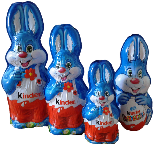 Kinder Chocolate Easter Bunny Set - Chocolate & More Delights