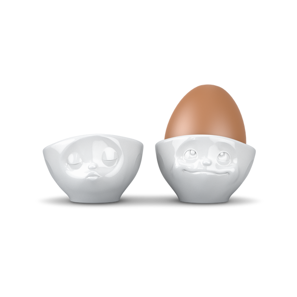 Emoji Set Egg Cups-Chocolate & More Delights