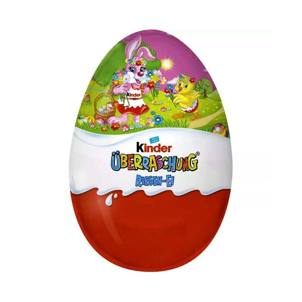 Ferrero Kinder Surprise Egg Extra Large Girls - Chocolate & More Delights