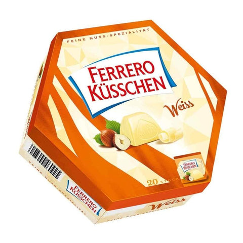 Ferrero Kuesschen White Chocolate - Chocolate & More Delights
