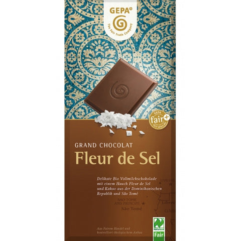 Gepa Fair Trade Chocolate Fleur de Sel - Chocolate & More Delights