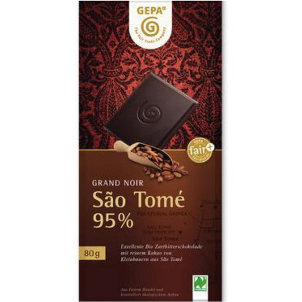 Gepa Fair Trade Dark Chocolate 95% - Chocolate & More Delights