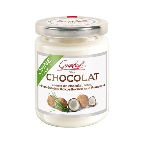 Grashoff White Chocolate Coconut Rum - Chocolate & More Delights
