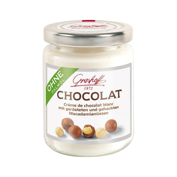 Grashoff White Chocolate Macadamia Nuts - Chocolate & More Delights