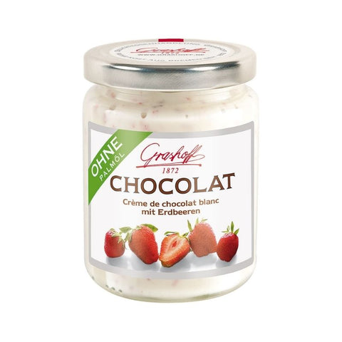 Grashoff White Chocolate Strawberry - Chocolate & More Delights