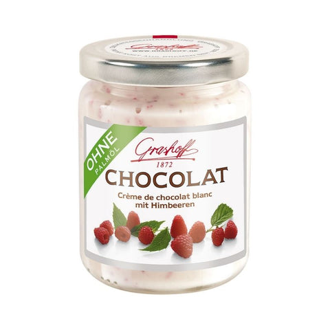 Grashoff White Chocolate Raspberry Spread - Chocolate & More Delights