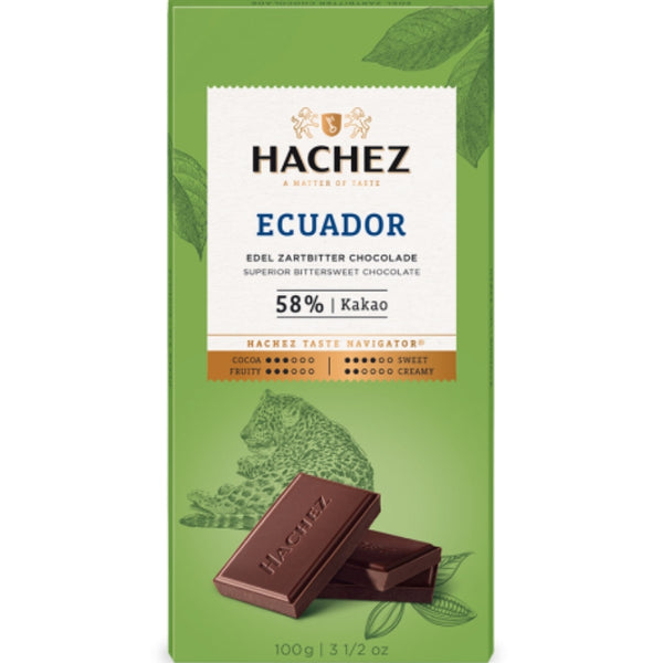 Hachez Single Origin Chocolate Ecuador - Chocolate & More Delights