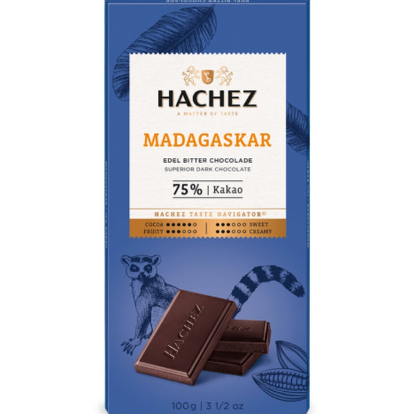 Hachez Single Origin Chocolate Madagascar - Chocolate & More Delights