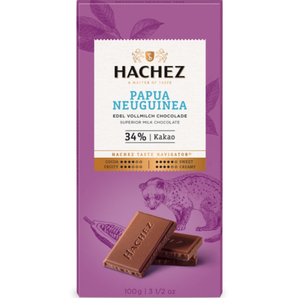 Hachez Single Origin Chocolate Papua New Guinea - Chocolate & More Delights