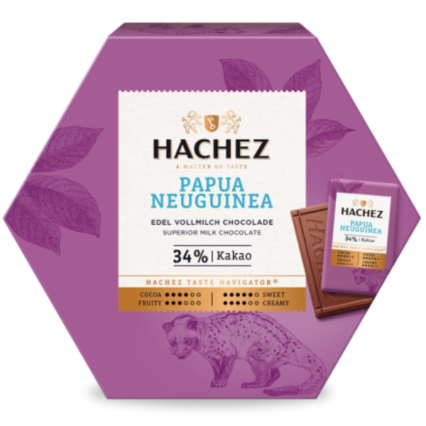 Hachez Single Origin Chocolate Minis Papua New Guinea - Chocolate & More Delights