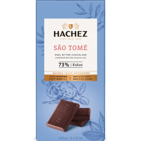 Hachez Single Origin Chocolate Sao Tome - Chocolate & More Delights