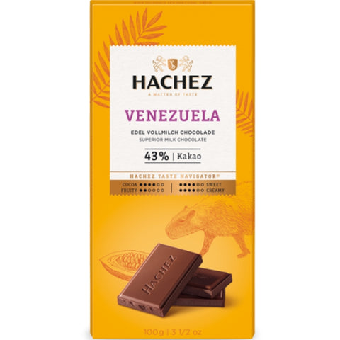Hachez Single Origin Chocolate Venezuela - Chocolate & More Delights