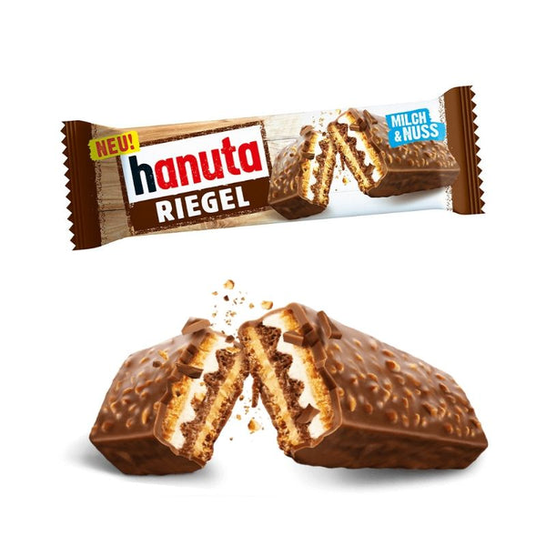 Hanuta Wafer Bar - Chocolate & More Delights
