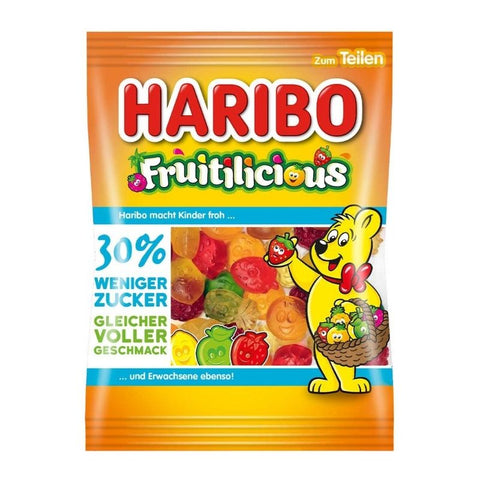 Haribo Fruitilicious  Reduced Sugar - Chocolate & More Delights