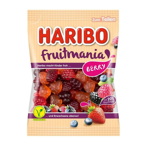 Haribo Fruitmania Berry - Chocolate & More Delights