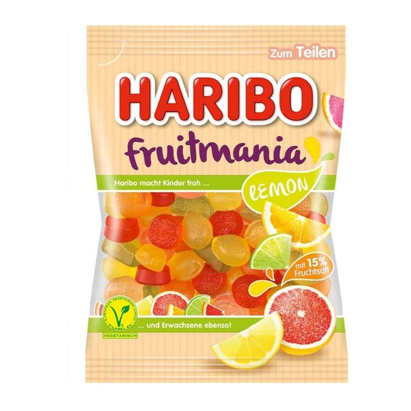 Haribo Fruitmania Lemon - Chocolate & More Delights