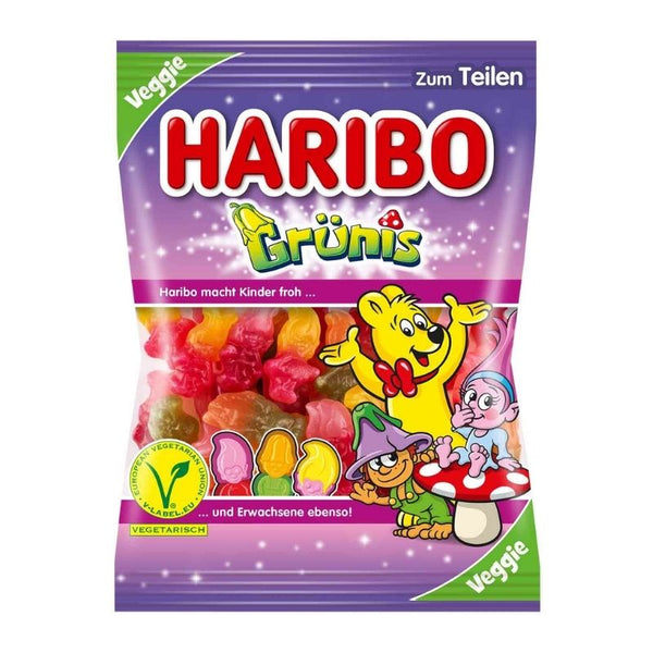 Haribo Gruenis Greens Vegan - Chocolate & More Delights