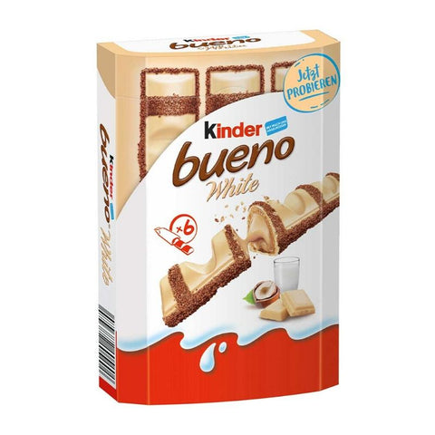 Kinder Bueno White Chocolate - Chocolate & More Delights