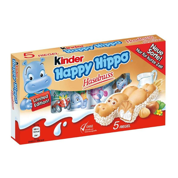 Kinder Happy Hippo Hazelnut - Chocolate & More Delights