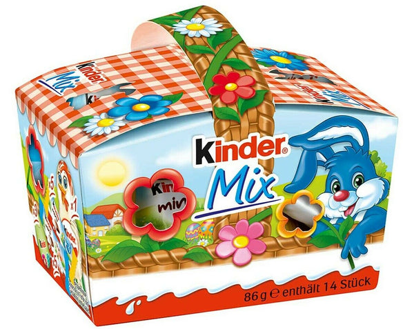 Kinder Mix Easter Basket - Chocolate & More Delights