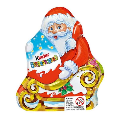 Kinder Chocolate Santa Claus with Surprise Egg -  Chocolate & More Delights