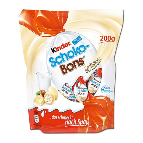Kinder Schoko Bons White - Chocolate & More Delights