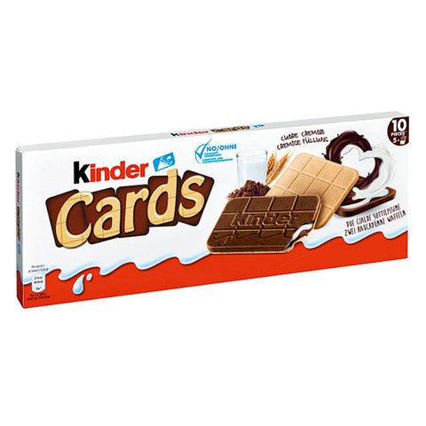Kinder Cards - Chocolate & More Delights