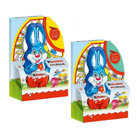 Kinder Chocolate Easter Bunny With  Coloring Book - Chocolate & More Delights