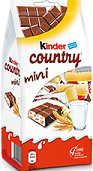 Kinder Country Mini-Kinder-Chocolate & More Delights