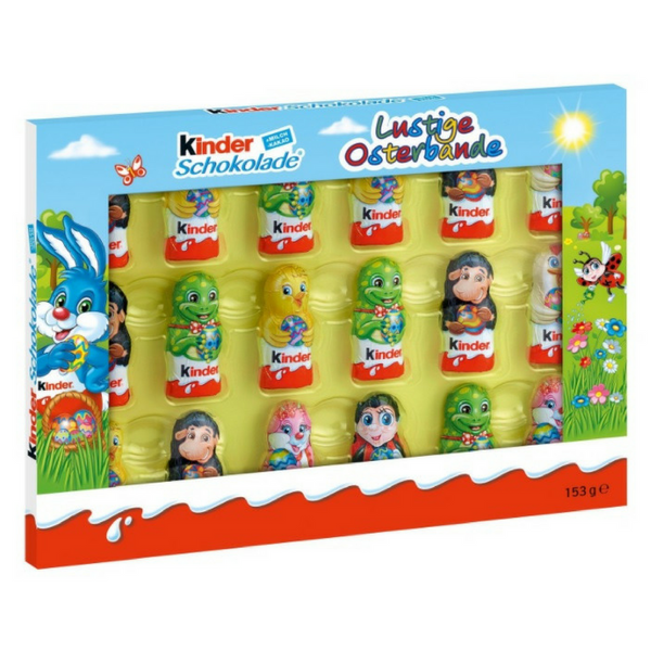 Kinder Easter Funny Figures - Chocolate & More Delights