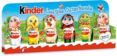 Kinder Easter Chocolate Figures