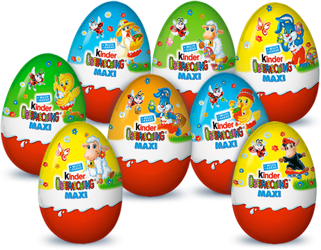 Kinder Surprise Maxi Eggs Easter Edition (3 eggs)-Kinder-Chocolate & More Delights