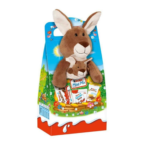 Kinder Maxi Mix Easter With Plush Kangaroo - Chocolate & More Delights