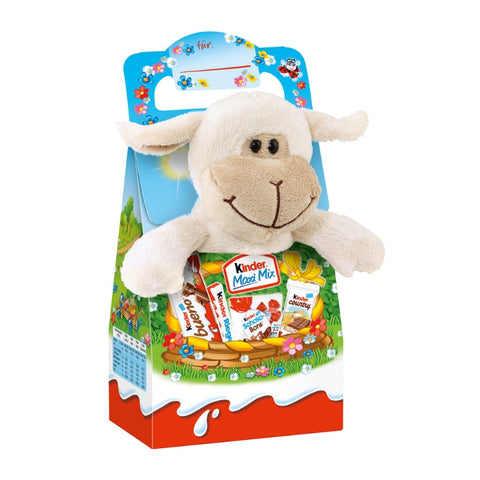 Kinder Maxi Mix With Soft Toy Lamb - Chocolate & More Delights