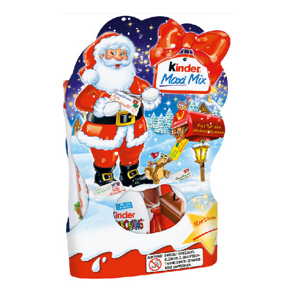 Kinder Maxi Mix X-Mas Bag - Chocolate & More Delights
