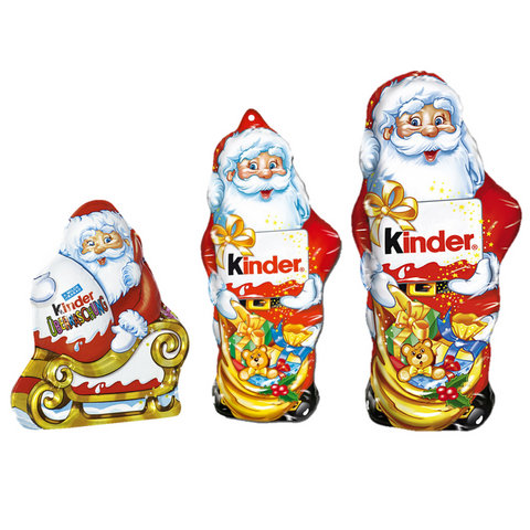 Kinder Santa Trio-Chocolate & More Delights