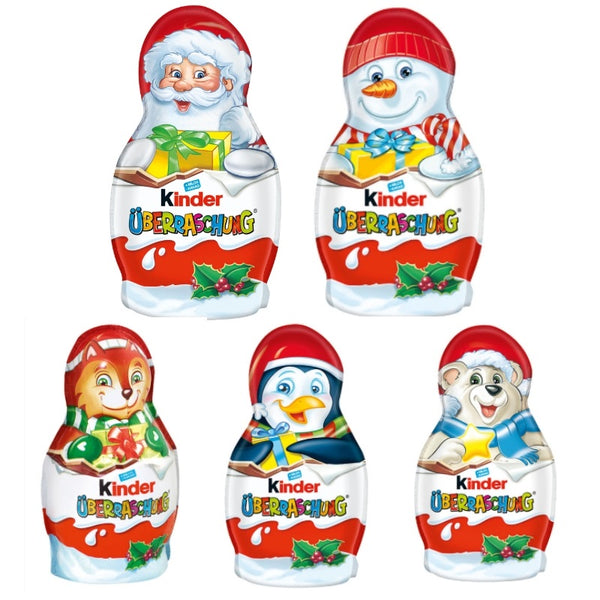 Kinder Surprise Christmas Figures - Chocolate & More Delights