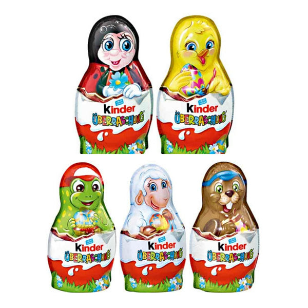 Kinder Surprise Easter Figures - Chocolate & More Delights