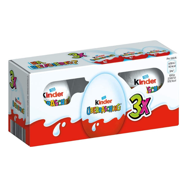 Kinder Surprise Eggs Trio - Chocolate & More Delights