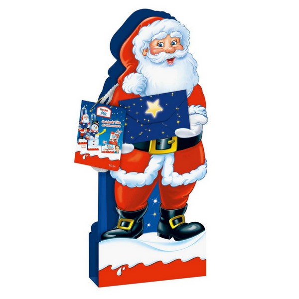 Kinder X-Mas Gift Bag Santa - Chocolate & More Delights